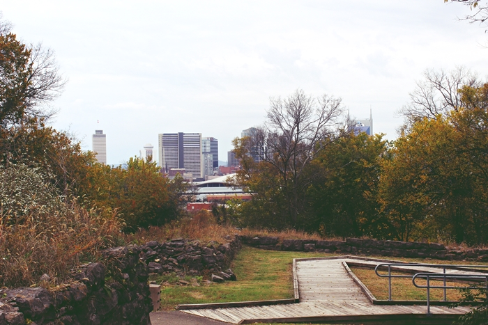 Nashville skyline from Fort Negley