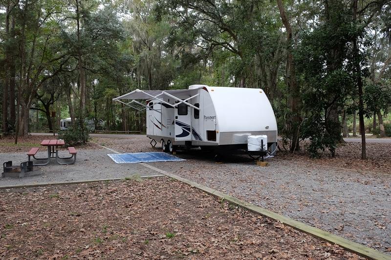 skidaway campsite