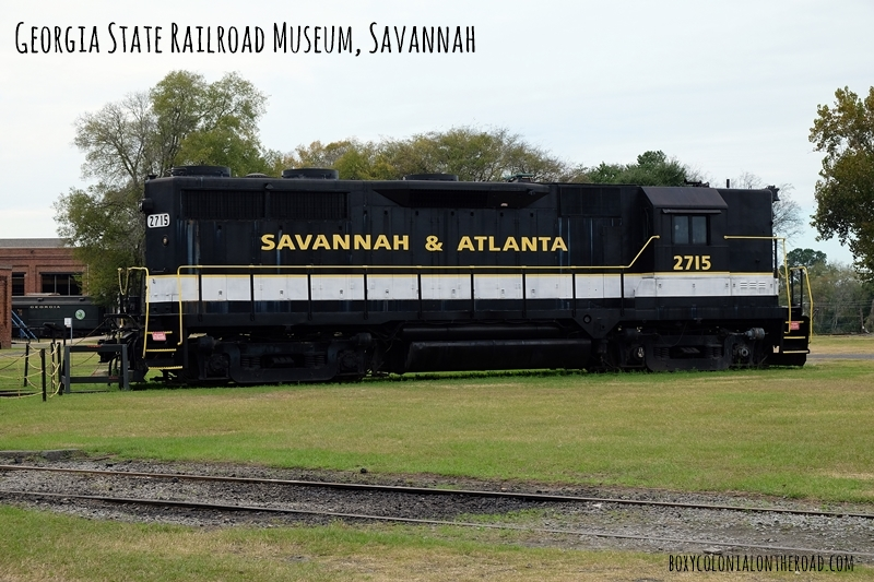 Georgia State Railroad Museum: Savannah/Coastal Georgia Trip