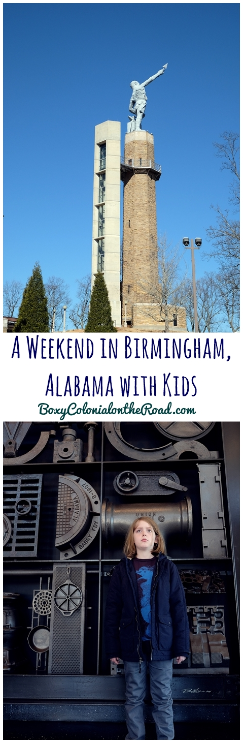 A Weekend in Birmingham, Alabma with kids: Vulcan Park and Museum and the Ruffner Mountain Nature Preserve