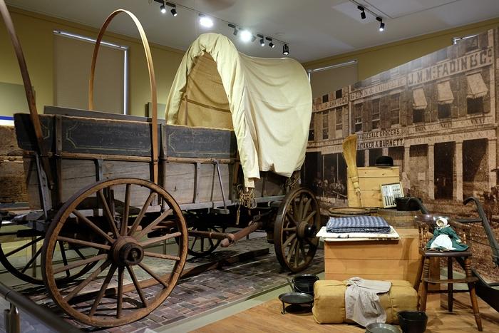 westward expansion exhibits, St. Louis