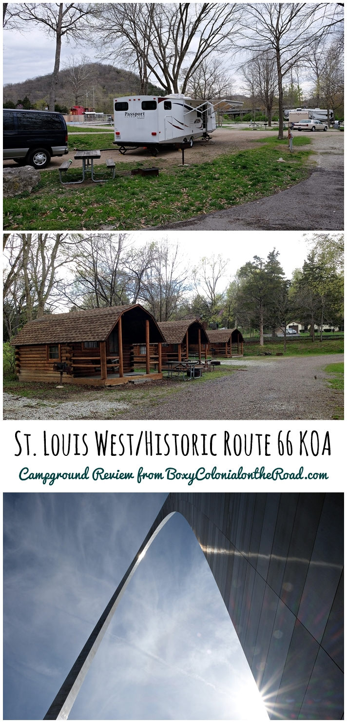 A review of the St. Louis West / Historic Route 66 KOA in Eureka, MO. Great base camp for exploring St. Louis. RV Travel, RV Park review