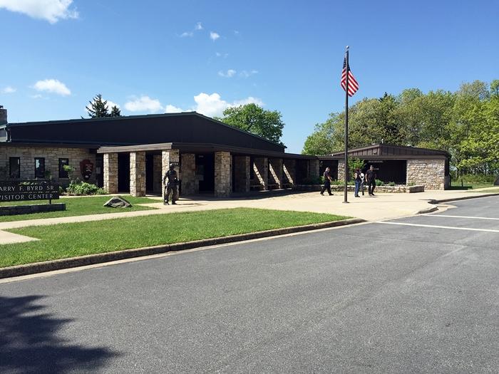 byrd visitor center, shenandoah