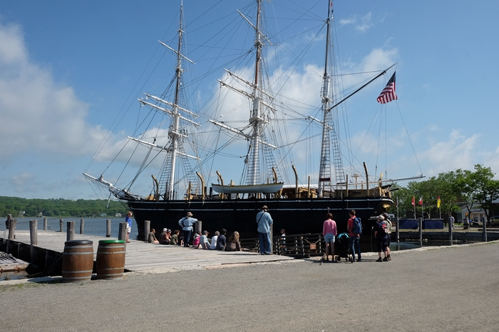 A Day at Mystic Seaport - Boxy Colonial On the Road