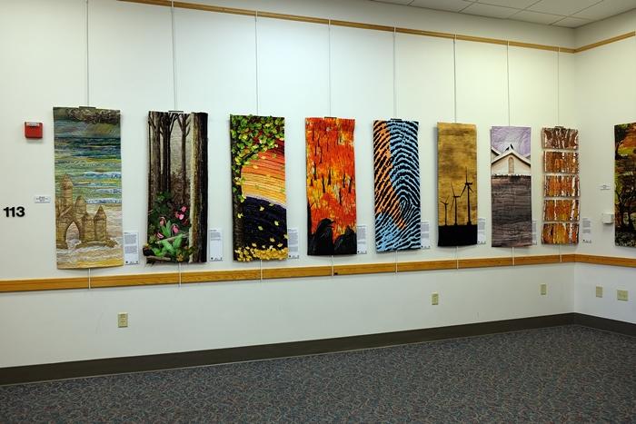 quilt exhibit in Eastham