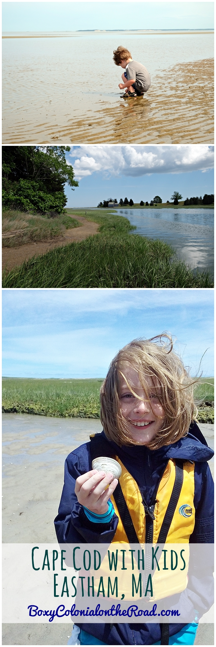 Visiting Eastham, MA on Cape Cod with kids: beaches, kayaking, National Seashore