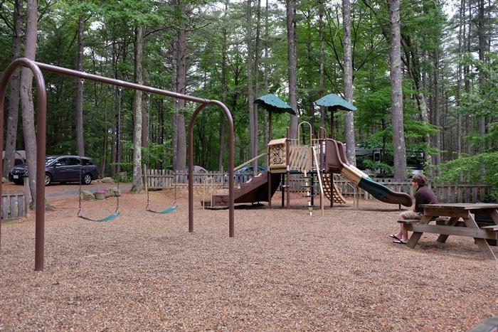 Minuteman Campground playground