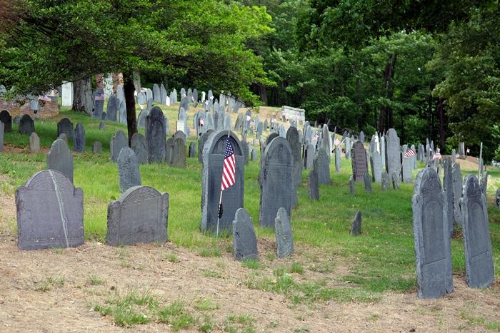 cemetery in Concord, MA