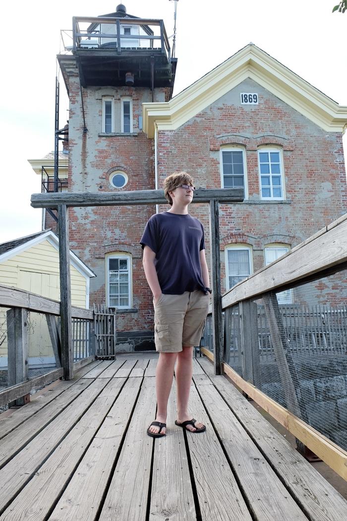 saugerties lighthouse deck