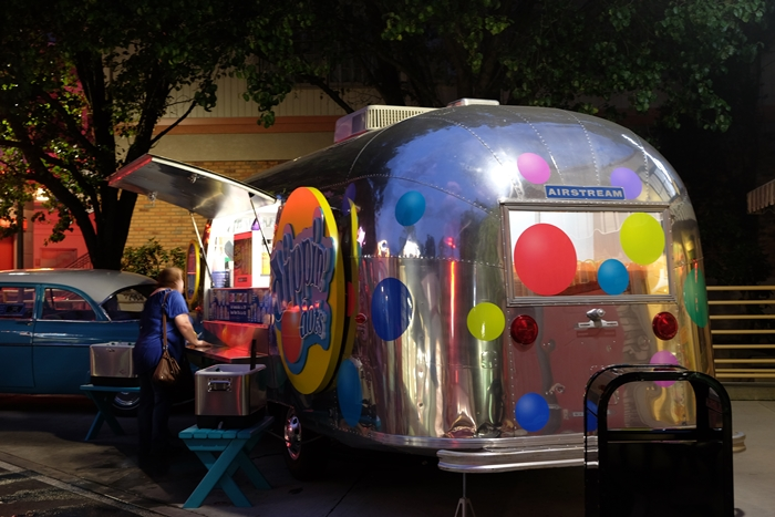 Dippin' Dots airstream at dollywood