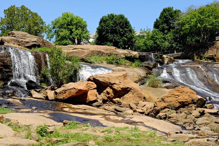 falls park, greenville south carolina