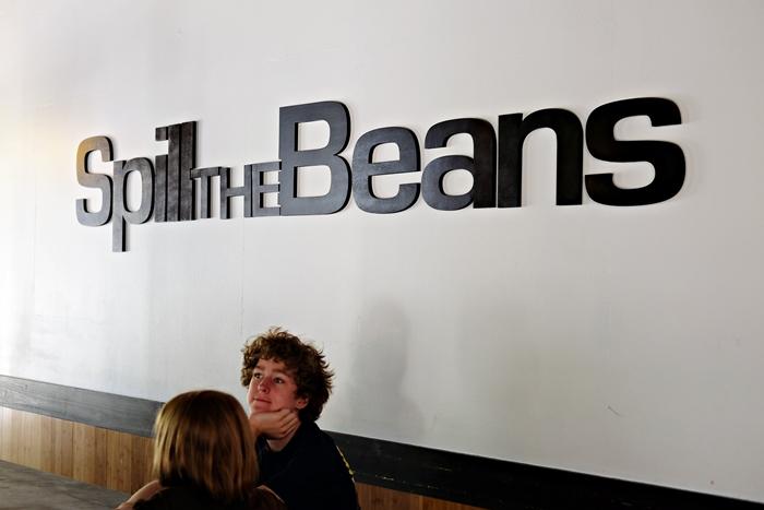 spill the beans, greenville, sc