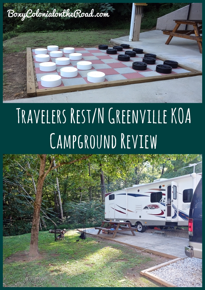 A review of our stay at the Travelers Rest/N Greenville, SC KOA