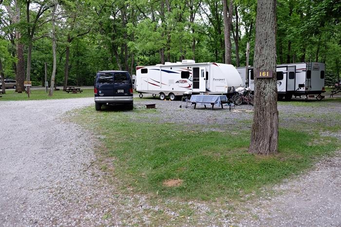 gettyburg campground site 161