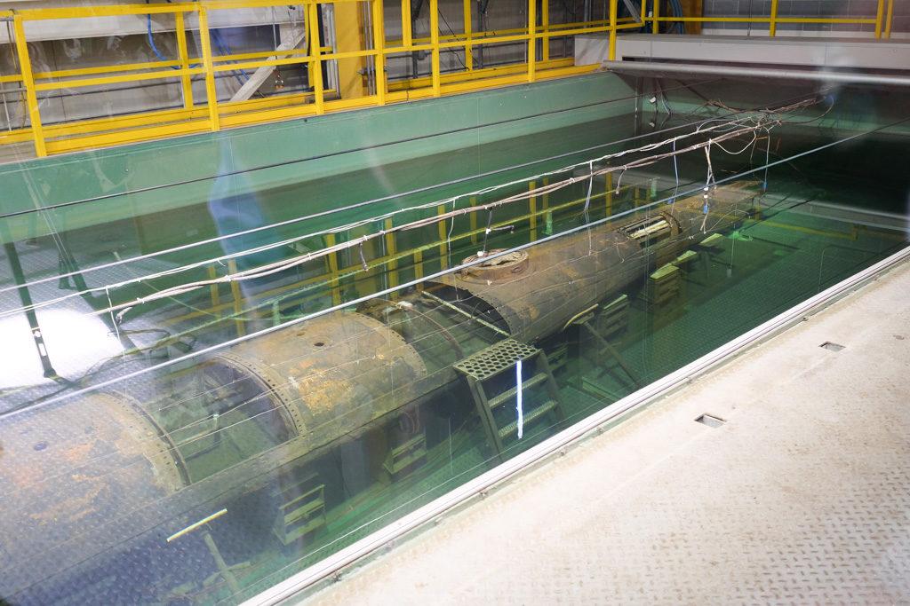 Hunley Civil War submarine, Charleston, SC