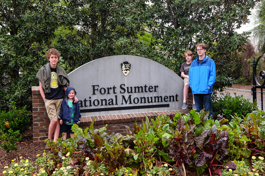 Forts of Charleston: Moultrie and Sumter