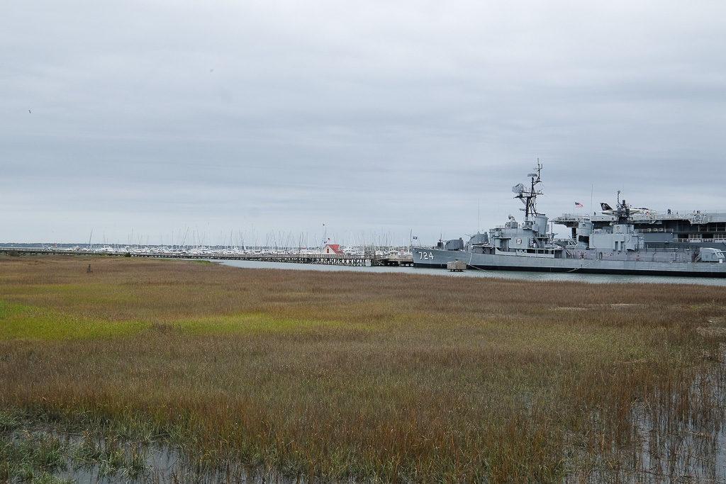 USS Laffey, Charleston SC