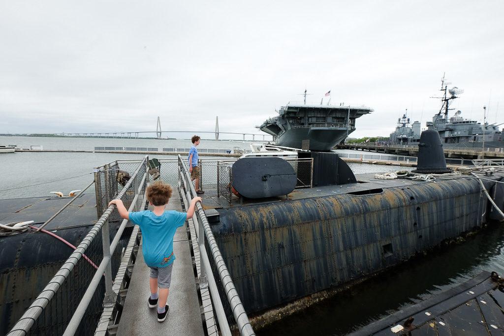 USS Clagmore at Patriots Point, SC