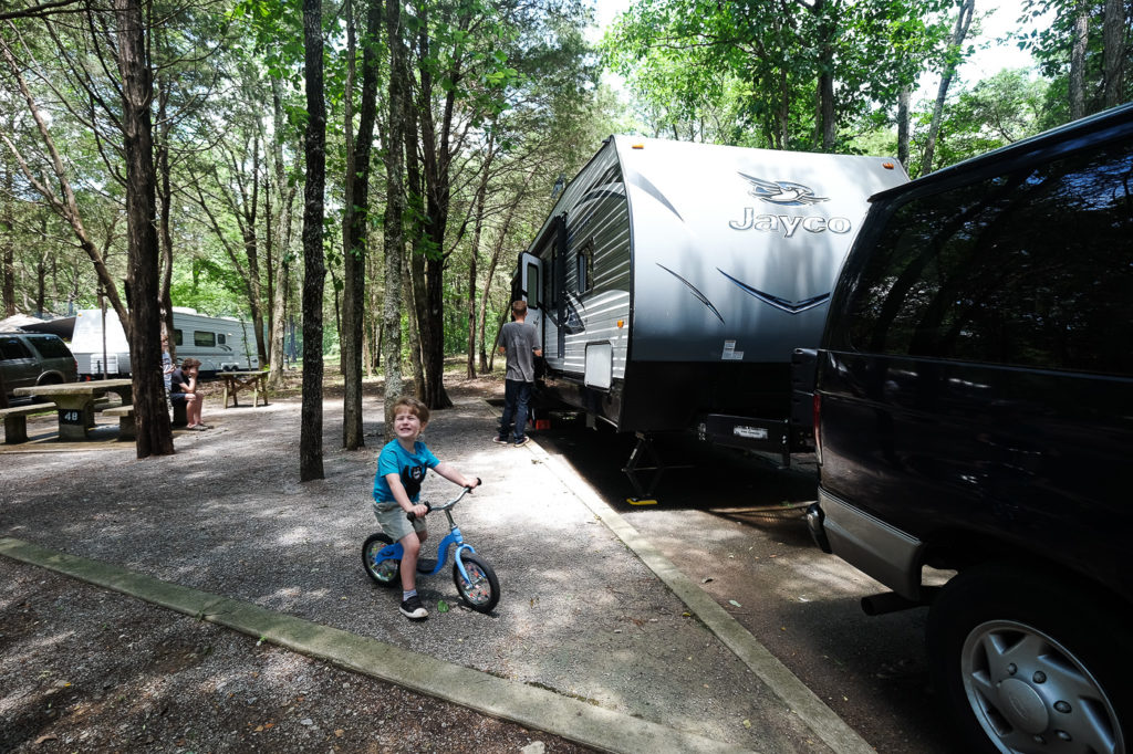 Seven Points Campground near Nashville, TN: Campground Review