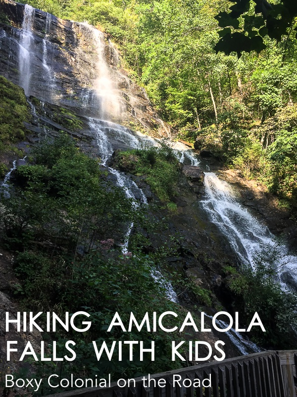 tips for hiking Amicalola Falls in Georgia with kids