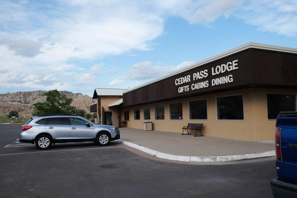 cedar pass lodge restaurant in Badlands National Park