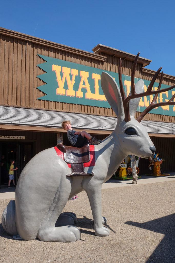 jackalope at Wall Drug