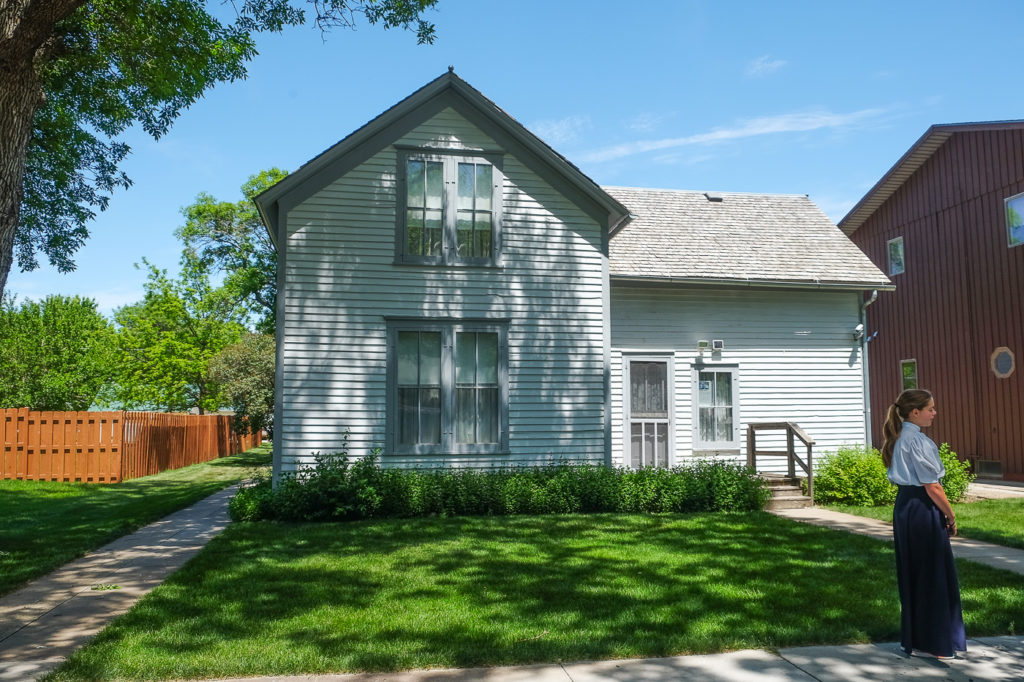 Ma and Pa Ingalls' house in De Smet, SD