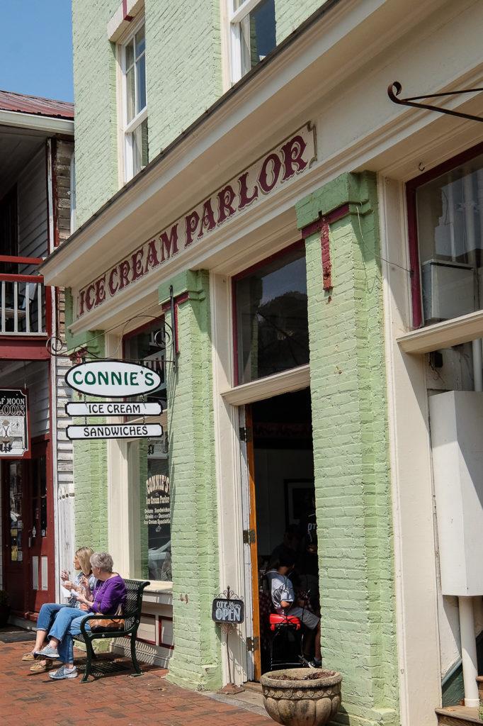 Connie's Ice Cream Parlor, Dahlonega