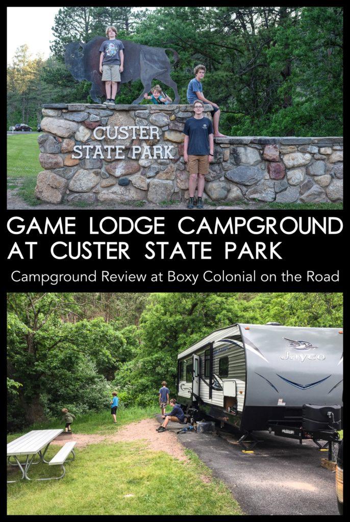 Game Lodge Campground at Custer State Park: campground review #blackhills #southdakota #rvtravel #familytravel
