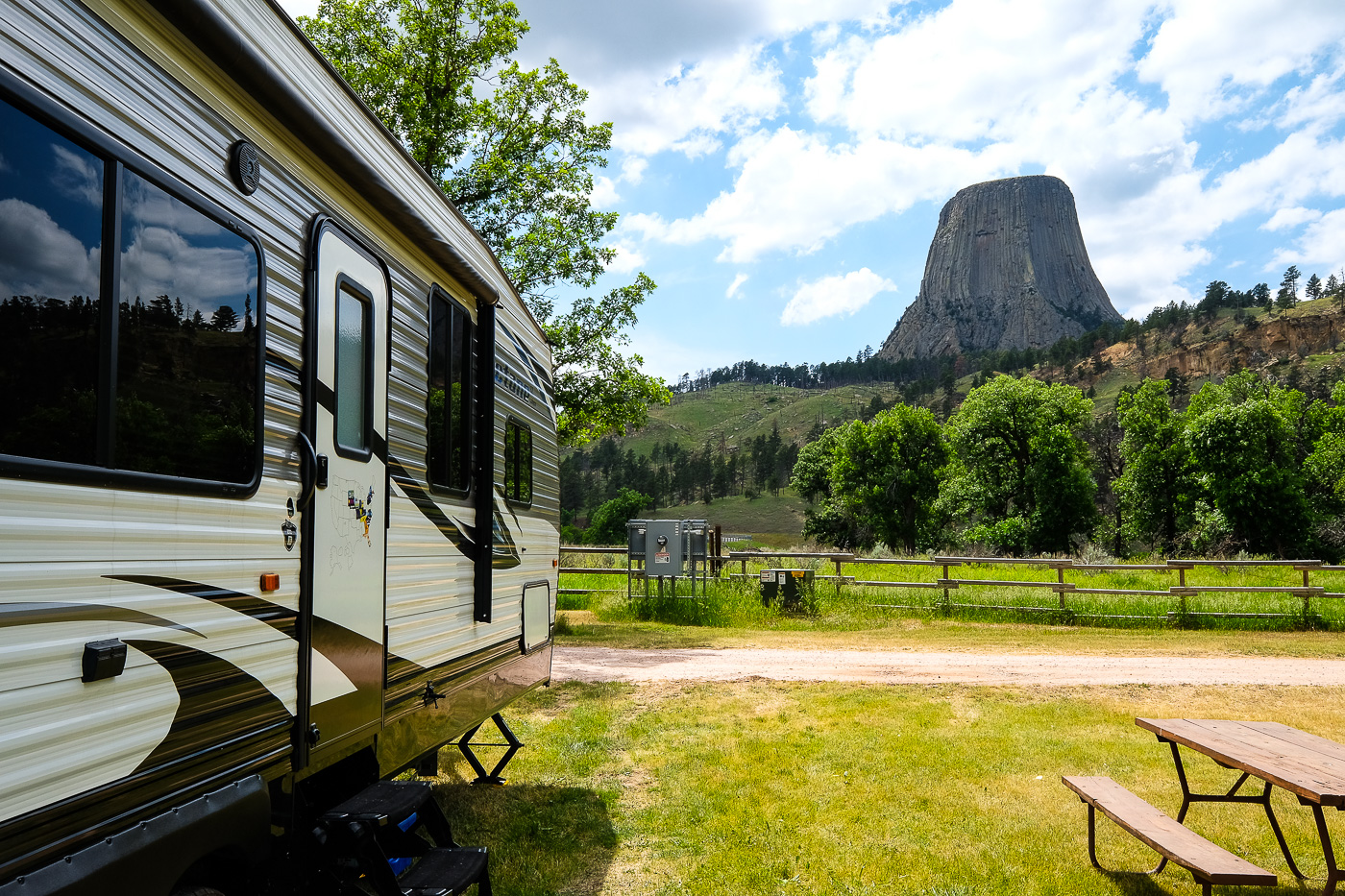Devils Tower Koa Campground Review A Koa With A View