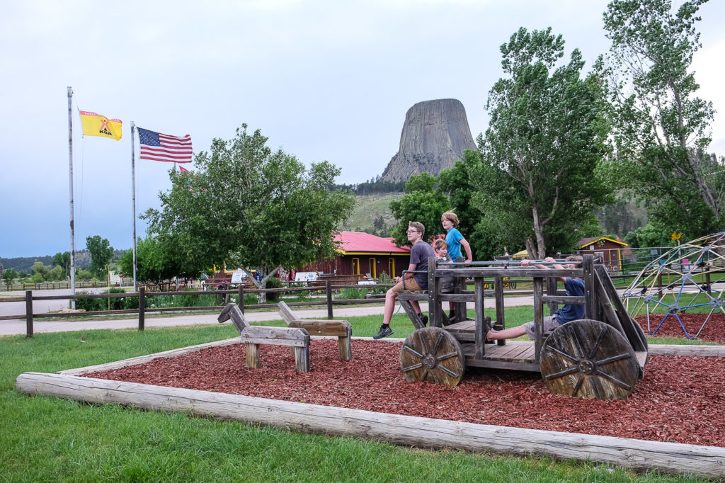 Devils Tower KOA Campground review
