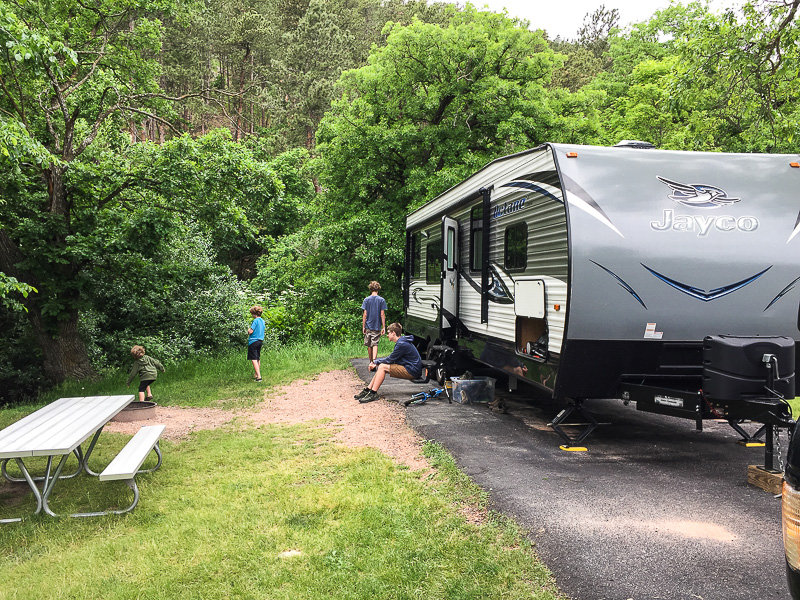Game Lodge Campground at Custer State Park: Campground Review