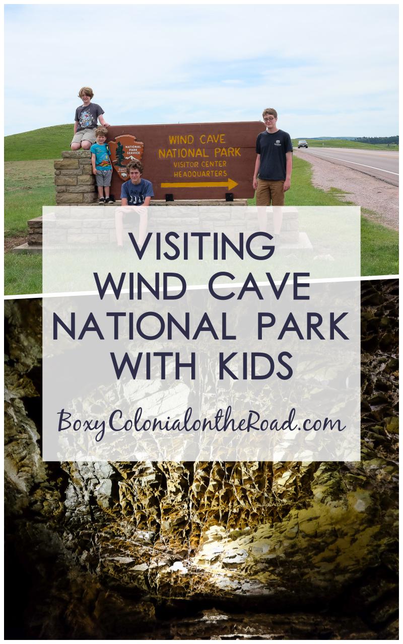 Visiting Wind Cave National Park in the Black Hills of South Dakota with kids. Junior Ranger program and Natural Entrance tour