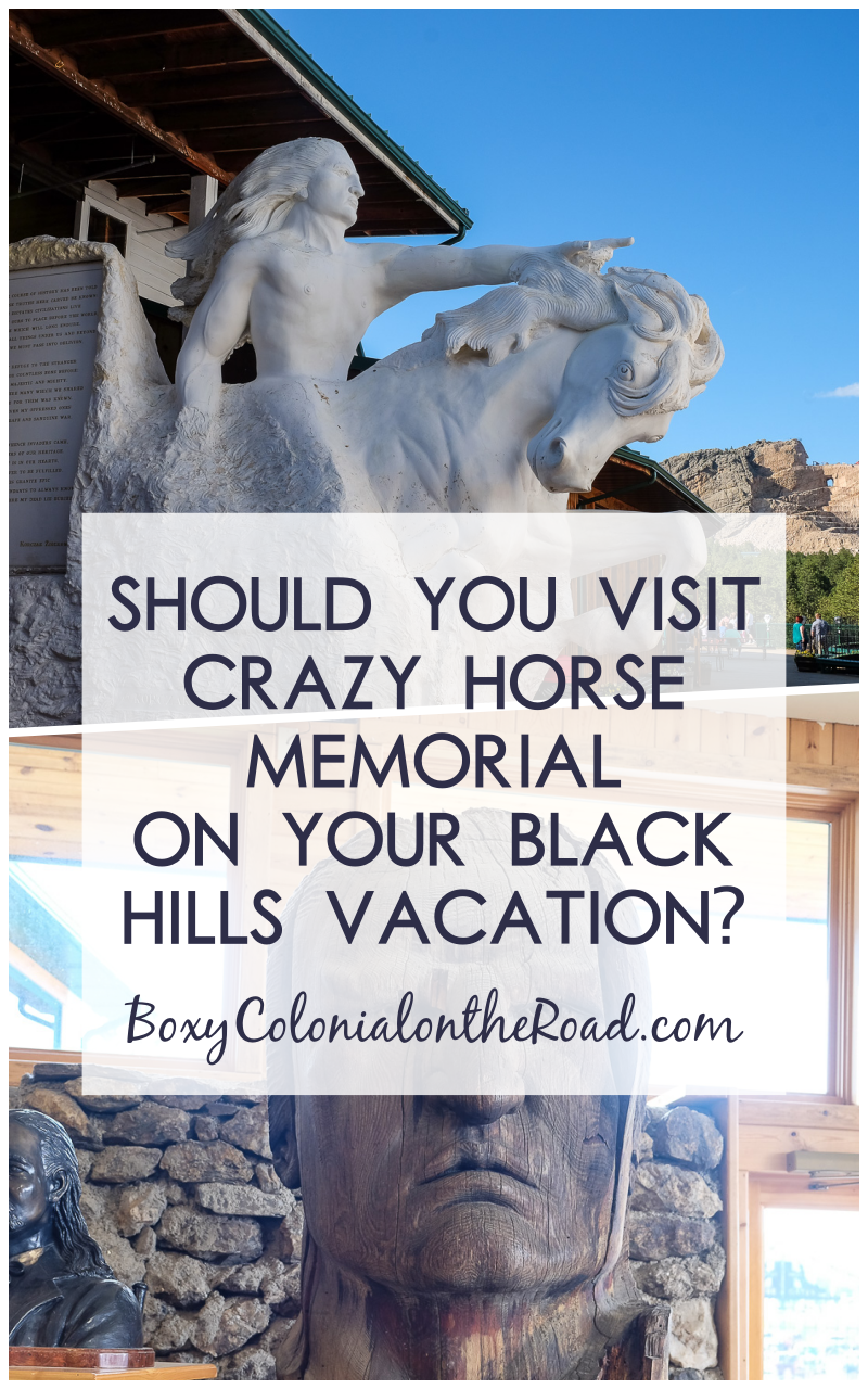 Our visit to Crazy Horse Memorial, near Mount Rushmore, in the Black Hills, with kids. Is it worth seeing?