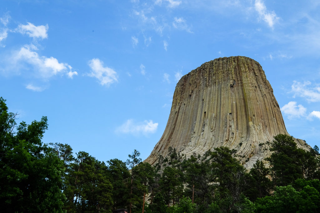 Devils Tower National Monument with Kids: A Stormy Night at America's First National Monument
