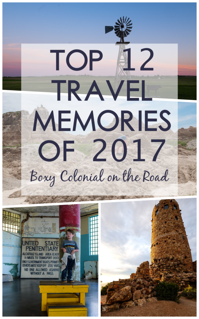 Boxy Colonial on the Road's Top 12 Travel Memories of 2017 #familytravel #roadtrip #rvtravel
