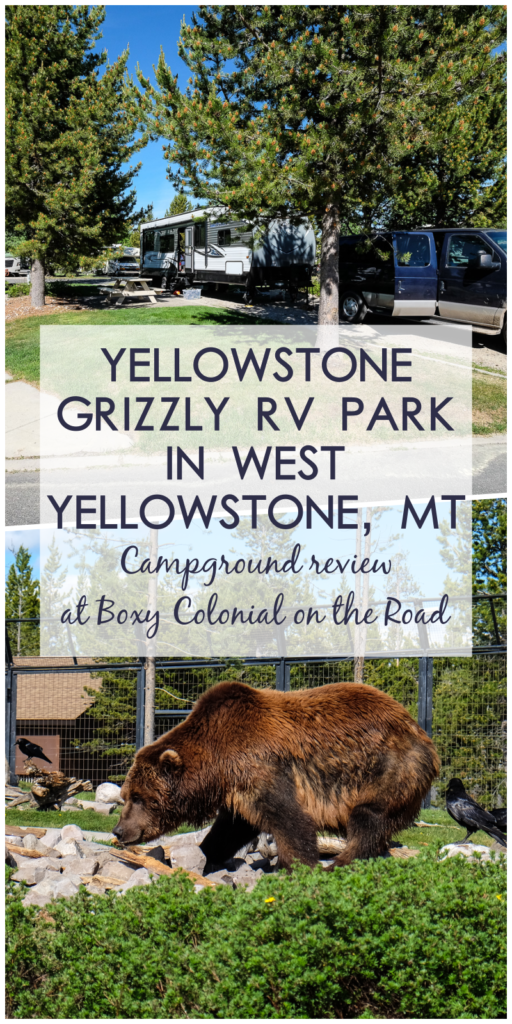 Yellowstone Grizzly Rv Park And West Yellowstone Mt