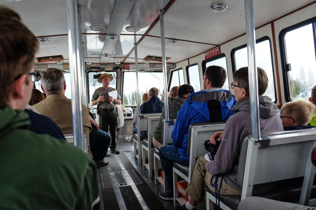 Yellowstone Lake boat tour