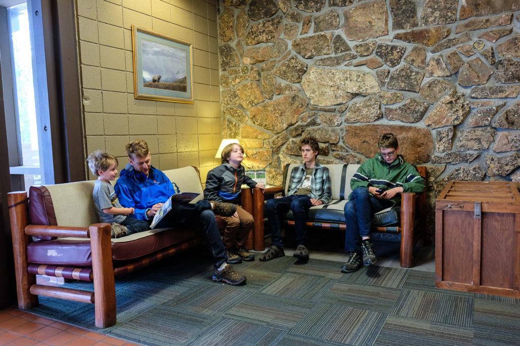 grant village visitors center, Yellowstone
