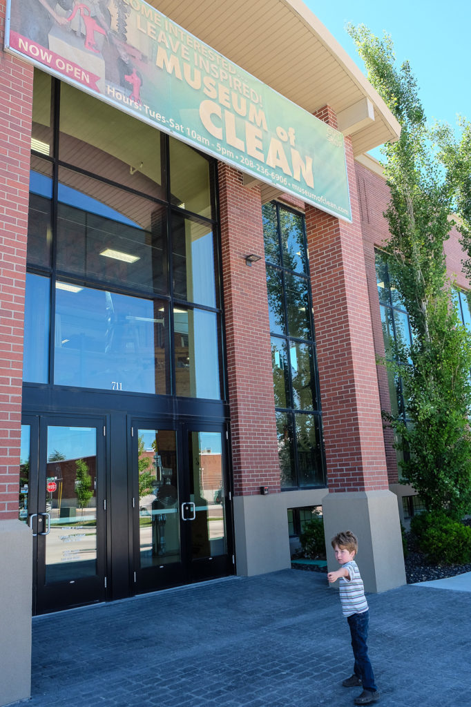 Visiting the Museum of Clean in Pocatello, ID