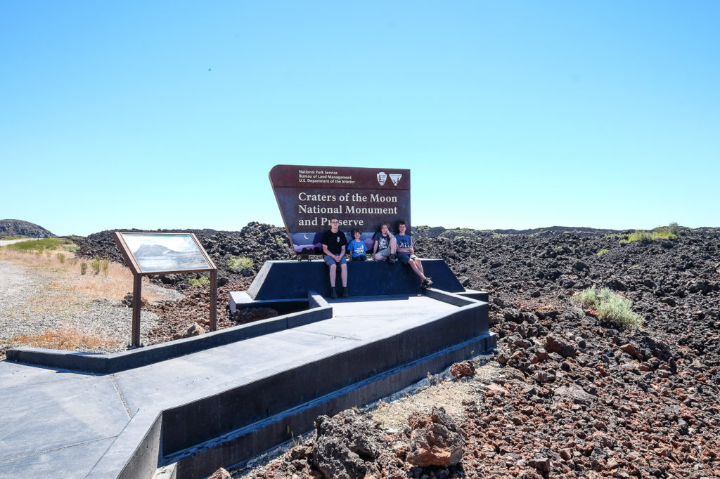 Craters of the Moon National Monument and the Arco KOA