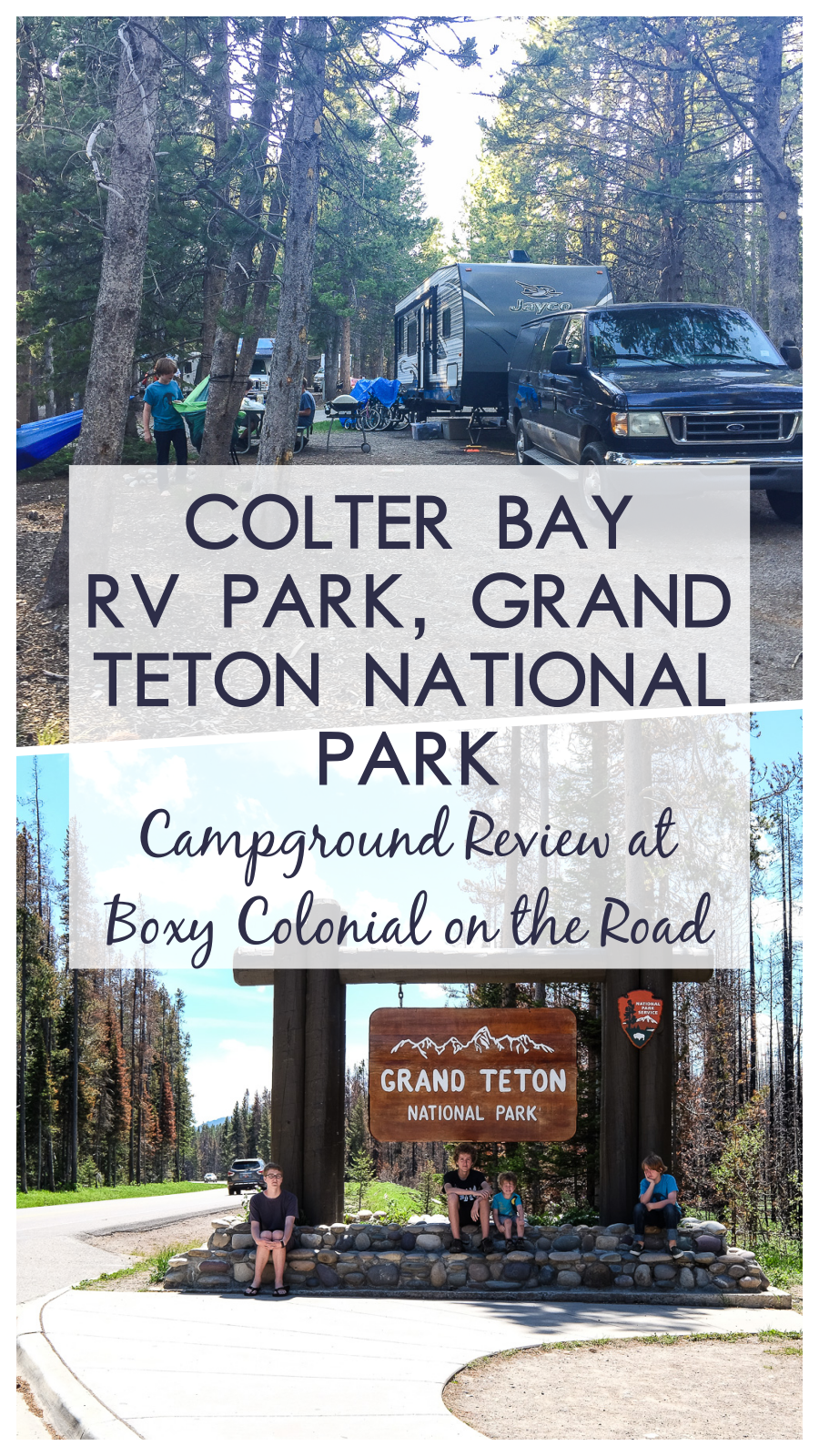 Colter Bay RV Park Campground Review, Grand Teton National Park #nps #campground #rving